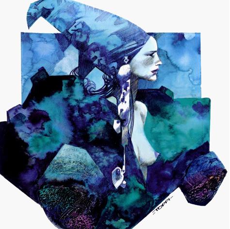 illustration av Sergio Toppi