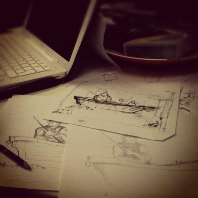 Skisser till Projekt Fornnordiska Sagor
