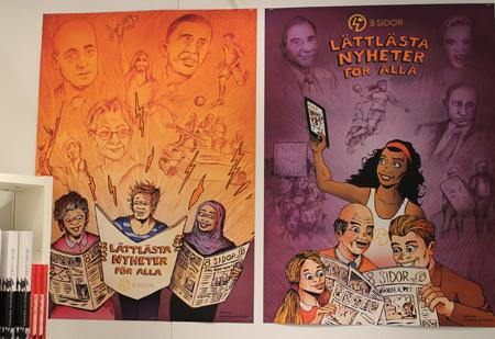 affischer på bokmässan