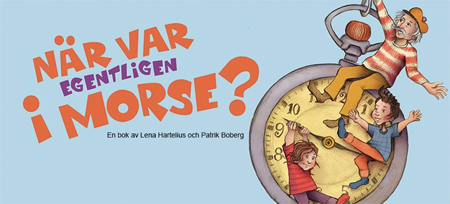 """Facebook-sida för boken """"När var egentligen i morgon?"""""""