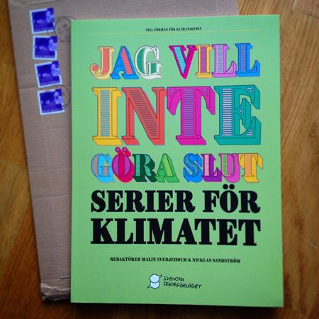 """""""Serier för klimatet"""" - omslag"""