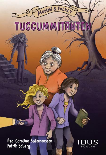 omslag till boken Tuggummitanten
