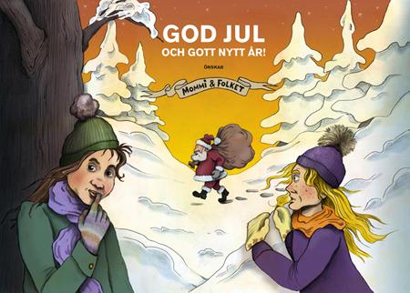Julbild - God jul från Mommi och Folket!