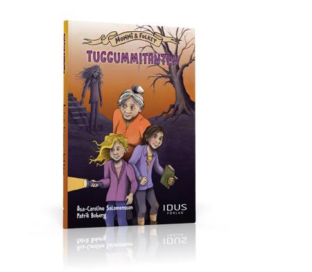 """Omslag till boken """"Tuggummitanten"""""""
