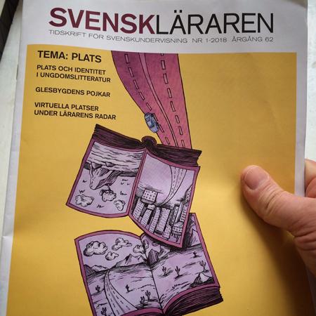 svenskläraren - omslag