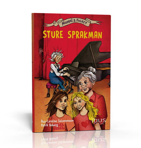 """Omslag till boken """"Sture Sprakman"""""""